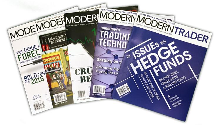 Modern Trader Magazines